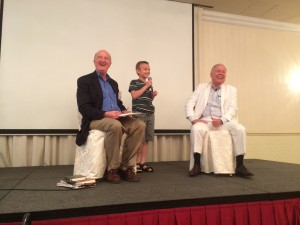 "My grandson Luke asked Jim Rogers the question, ""Do you recommend any small-cap stocks for small people?"""
