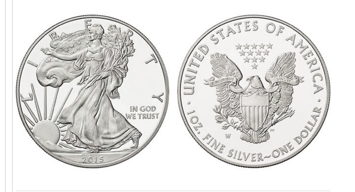 Silver Coins Eagle Dollars